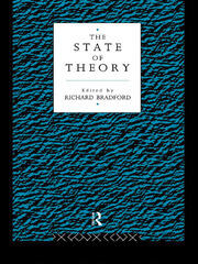 The State of Theory - 1st Edition book cover