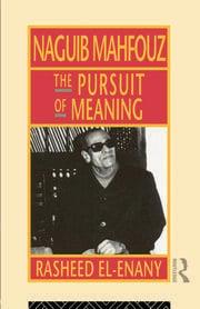 Naguib Mahfouz - 1st Edition book cover