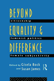 Beyond Equality and Difference - 1st Edition book cover