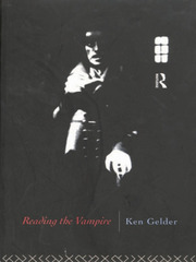 Reading the Vampire - 1st Edition book cover