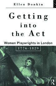 Getting Into the Act - 1st Edition book cover