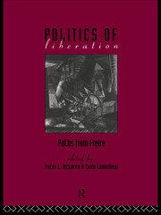 The Politics of Liberation - 1st Edition book cover