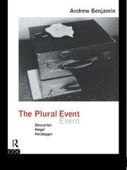 The Plural Event - 1st Edition book cover