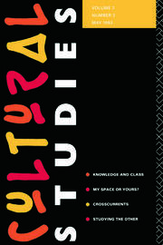 Cultural Studies - 1st Edition book cover