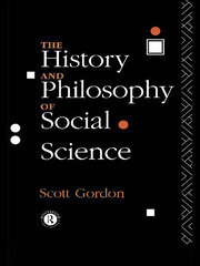 The History and Philosophy of Social Science - 1st Edition book cover
