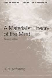 A Materialist Theory of the Mind - 2nd Edition book cover