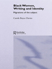 Black Women, Writing and Identity - 1st Edition book cover