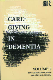 Care-Giving in Dementia - 1st Edition book cover
