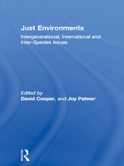 Just Environments - 1st Edition book cover