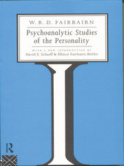Psychoanalytic Studies of the Personality - 1st Edition book cover