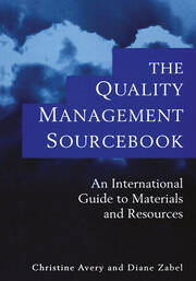 The Quality Management Sourcebook - 1st Edition book cover