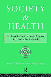 Society and Health - 1st Edition book cover