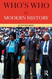 Who's Who in Modern History - 3rd Edition book cover