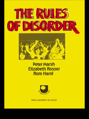 The Rules of Disorder - 1st Edition book cover