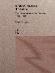 British Realist Theatre - 1st Edition book cover