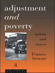 Adjustment and Poverty - 1st Edition book cover