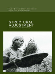 Structural Adjustment - 1st Edition book cover
