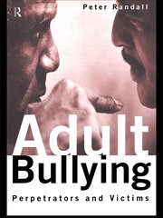 Adult Bullying - 1st Edition book cover