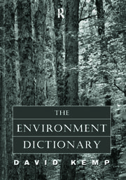 The Environment Dictionary - 1st Edition book cover