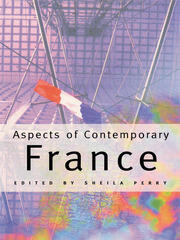 Aspects of Contemporary France - 1st Edition book cover