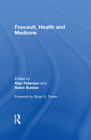 Foucault, Health and Medicine - 1st Edition book cover