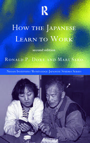 How the Japanese Learn to Work - 2nd Edition book cover