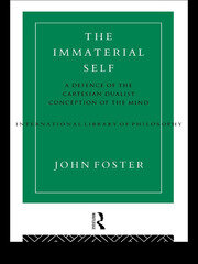 The Immaterial Self - 1st Edition book cover