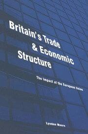 Britain's Trade and Economic Structure - 1st Edition book cover