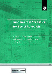 Fundamental Statistics for Social Research - 1st Edition book cover