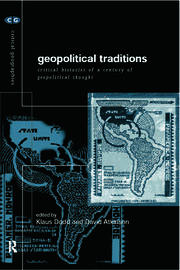 Geopolitical Traditions - 1st Edition book cover