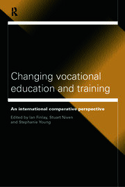 Changing Vocational Education and Training - 1st Edition book cover