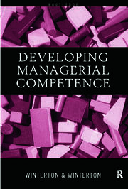 Developing Managerial Competence - 1st Edition book cover