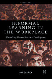 Informal Learning in the Workplace - 1st Edition book cover