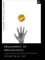 Adjustment of Adolescents : Cross-Cultural Similarities and Differences - 1st Edition book cover