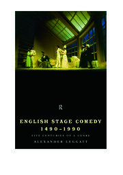 English Stage Comedy 1490-1990 - 1st Edition book cover