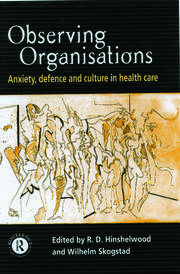 Observing Organisations - 1st Edition book cover