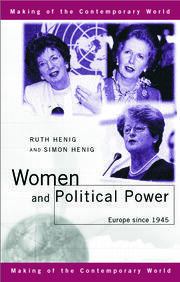Women and Political Power - 1st Edition book cover