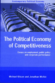 The Political Economy of Competitiveness - 1st Edition book cover