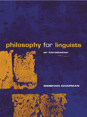 Philosophy for Linguists - 1st Edition book cover