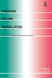 Thinking Italian Translation - 1st Edition book cover