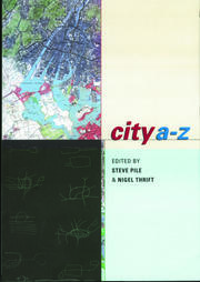 City A-Z - 1st Edition book cover