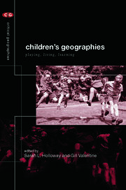 Children's Geographies - 1st Edition book cover