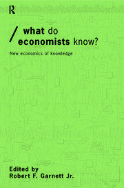 What do Economists Know? - 1st Edition book cover