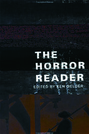 The Horror Reader - 1st Edition book cover