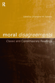Moral Disagreements - 1st Edition book cover