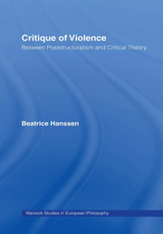 Critique of Violence - 1st Edition book cover