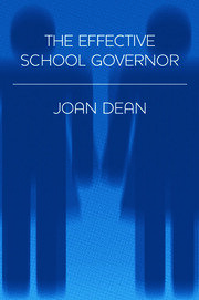 The Effective School Governor - 1st Edition book cover