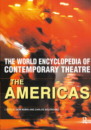 World Encyclopedia of Contemporary Theatre - 1st Edition book cover