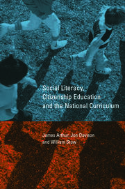 Social Literacy, Citizenship Education and the National Curriculum - 1st Edition book cover