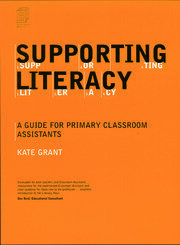 Supporting Literacy - 1st Edition book cover